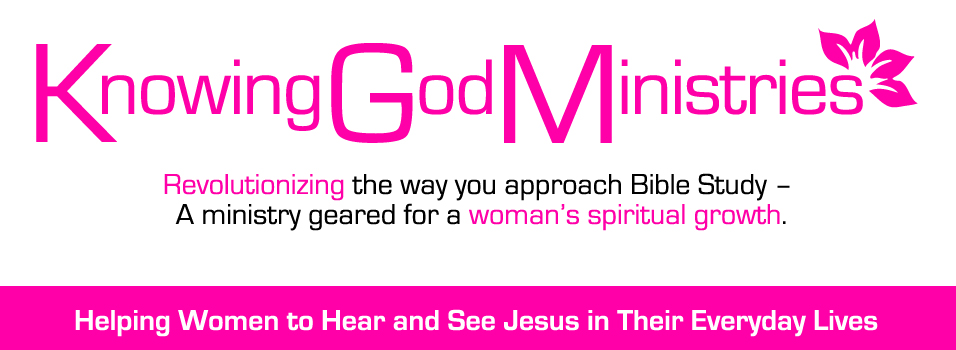 Helping women to see and hear Jesus in their everyday lives